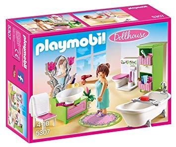 salle de bain playmobil