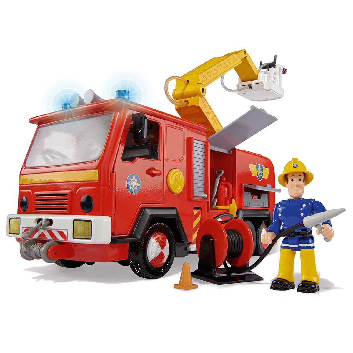 sam le pompier camion