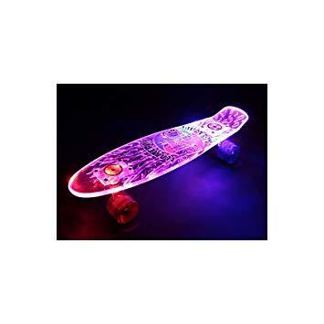 skateboard lumineux