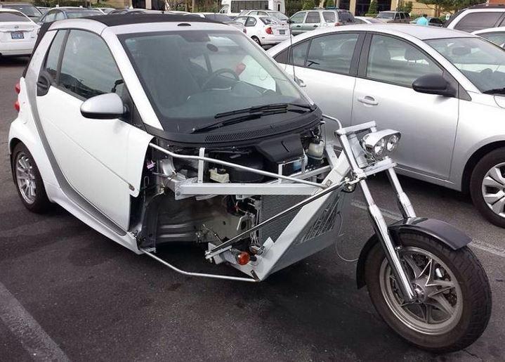 smart trike car