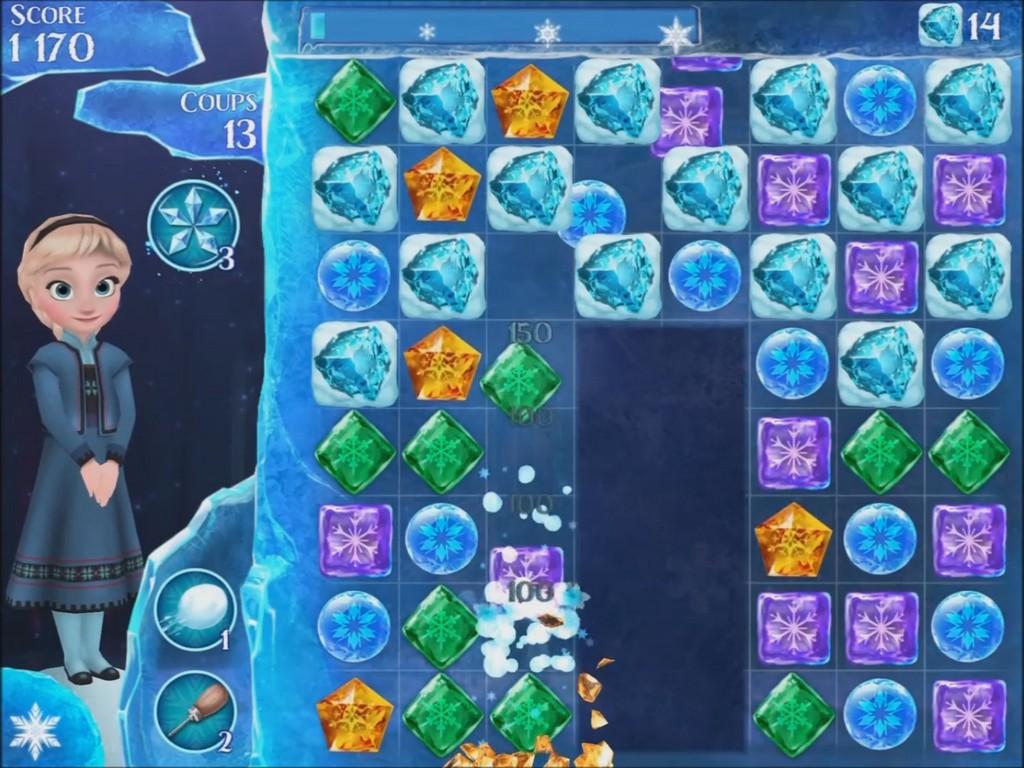 solution jeu la reine des neiges