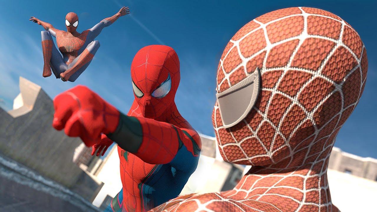 spiderman 5 et spiderman 6