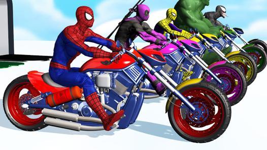 spiderman moto youtube