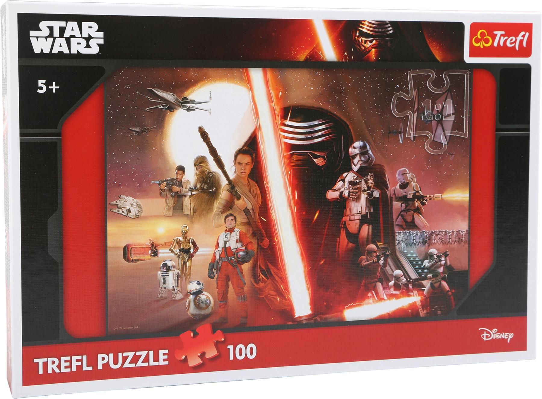star wars 100 piece puzzle
