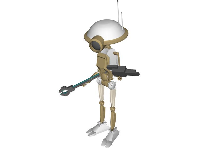 star wars episode 1 robots