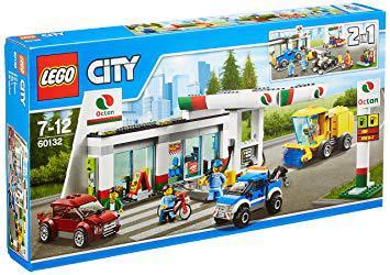 station essence lego