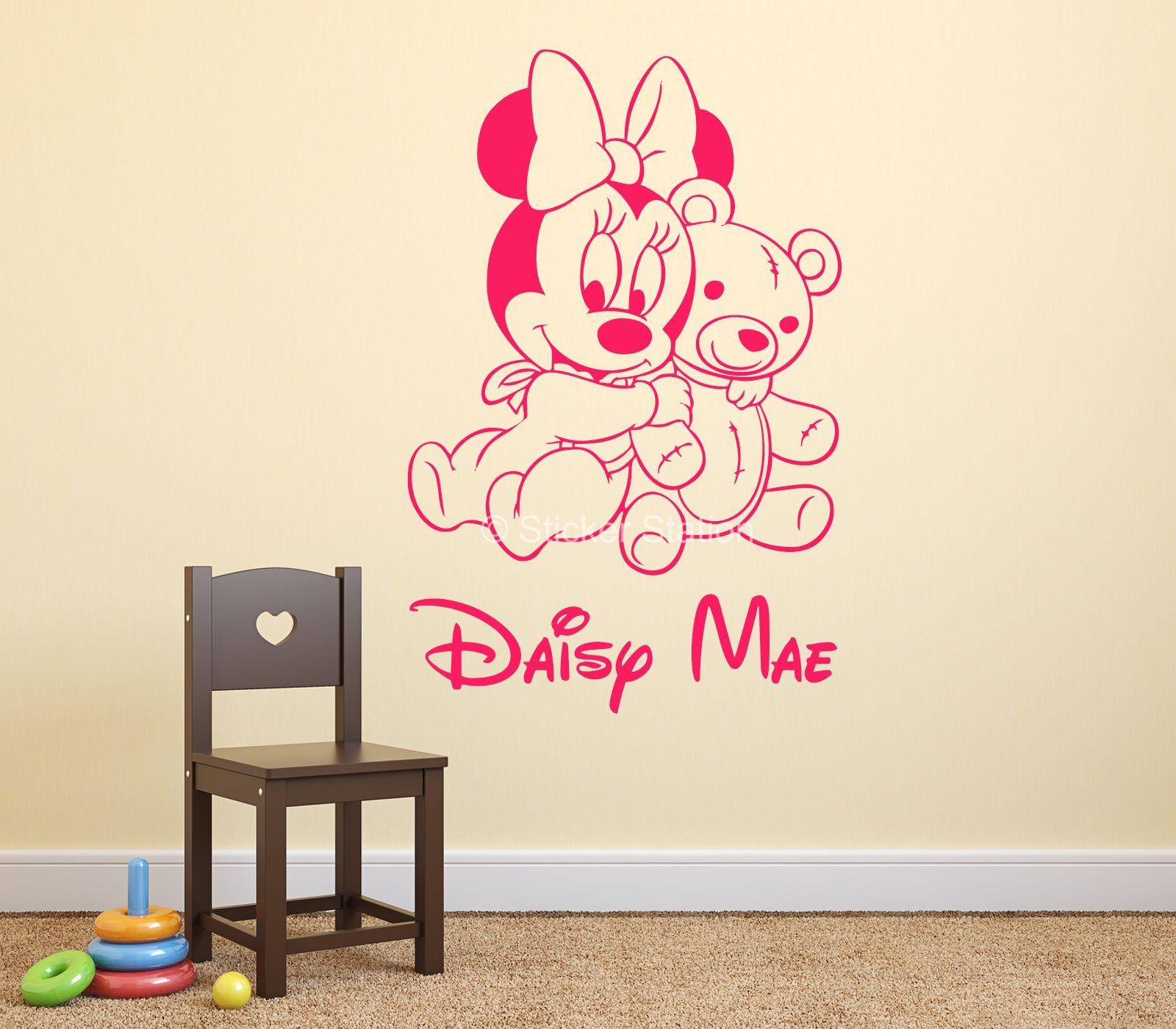stickers minnie baby