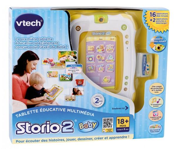 storio 2 baby jeux
