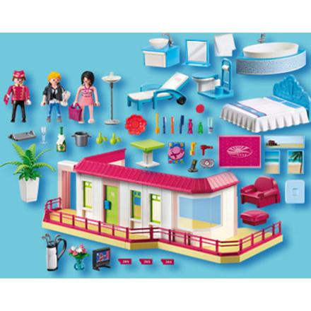 suite hotel playmobil