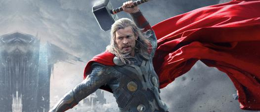 super héros thor