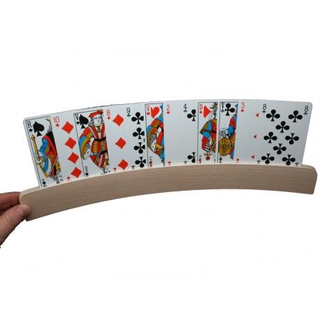 support carte a jouer