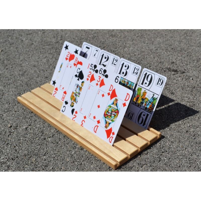 support de cartes à jouer