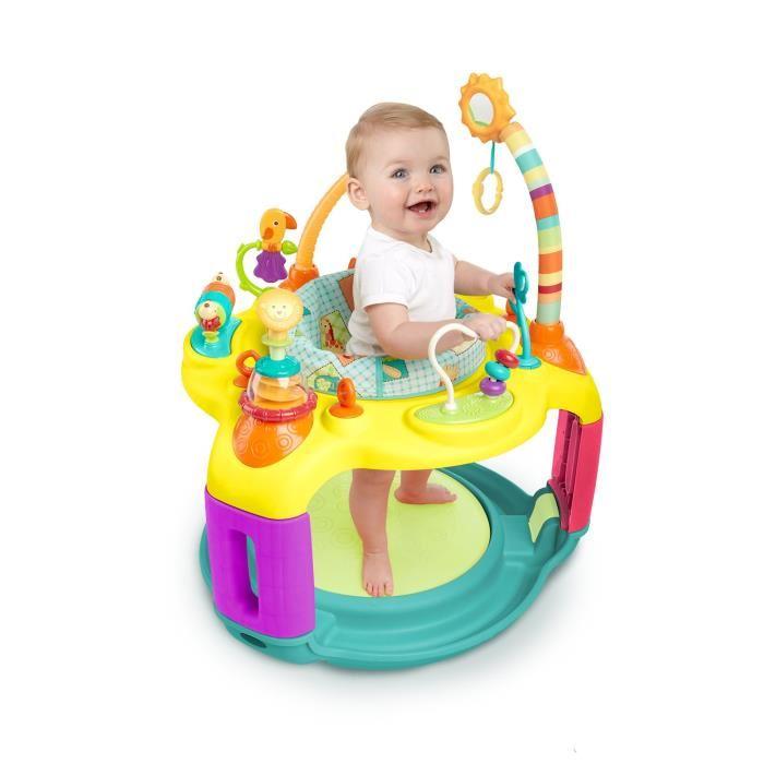 table activité bébé avec siege