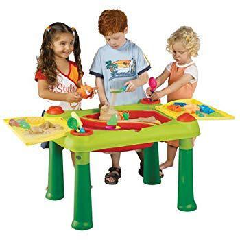 table activité eau et sable