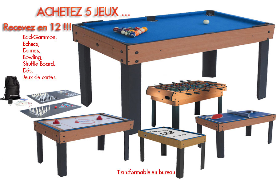 table baby foot billard
