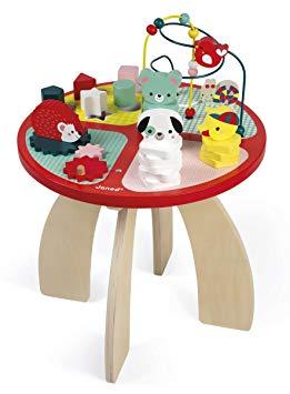 table d activités baby forest