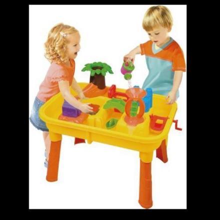 table de jeu sable et eau