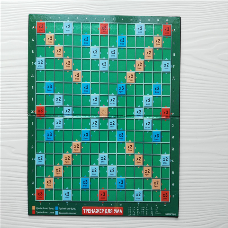 table de jeu scrabble
