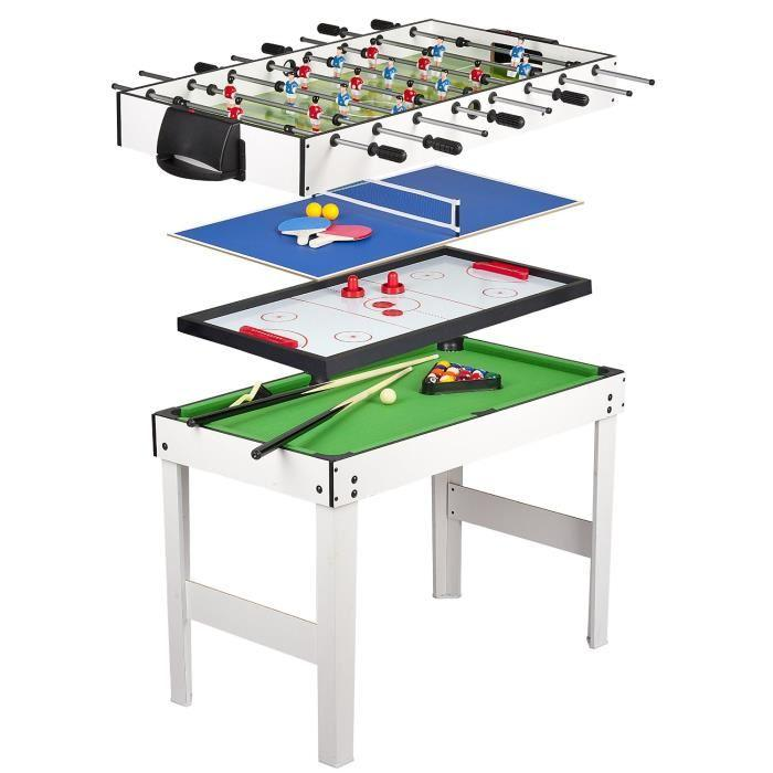 table de jeux 4 en 1