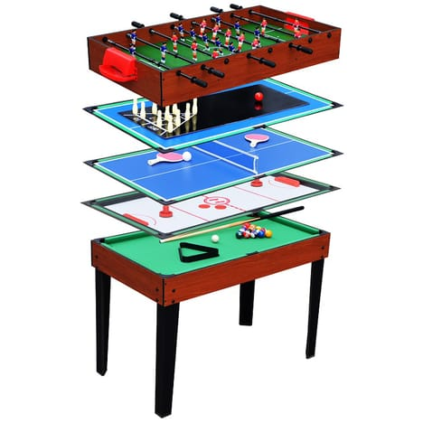 table de jeux 5 en 1