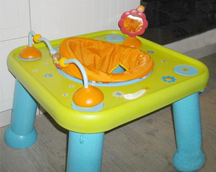 table évolutive bébé