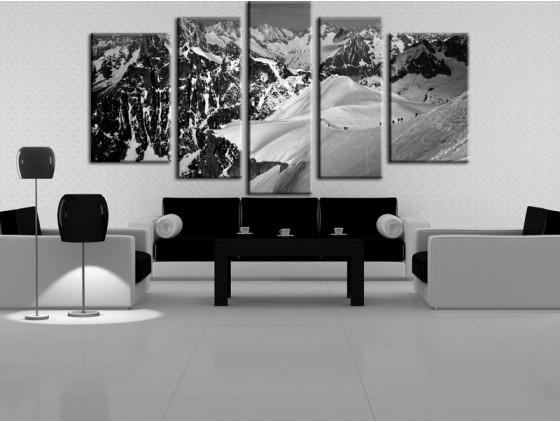 tableau blanc et noir
