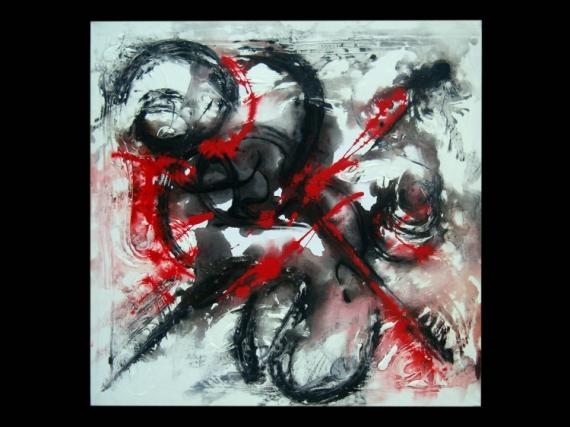 tableau musique noir et blanc