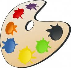 tablette de peinture