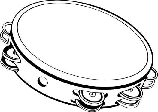 tambourin dessin