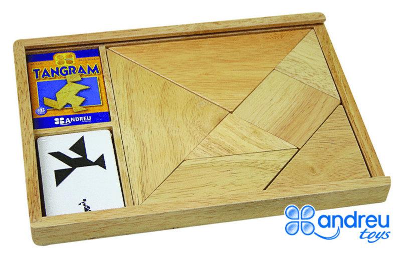 tangram bois