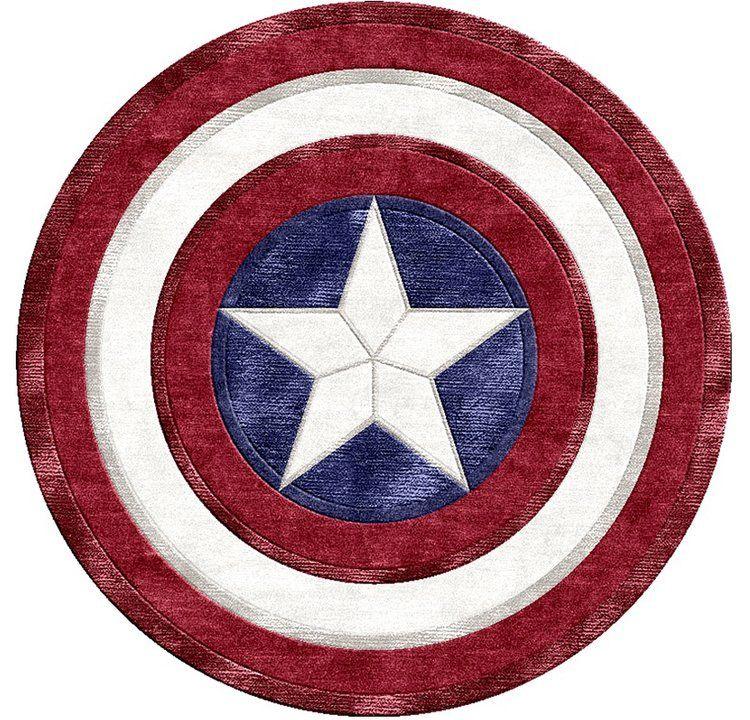 tapis captain america
