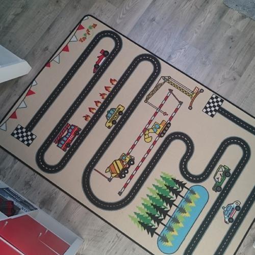 tapis circuit enfant