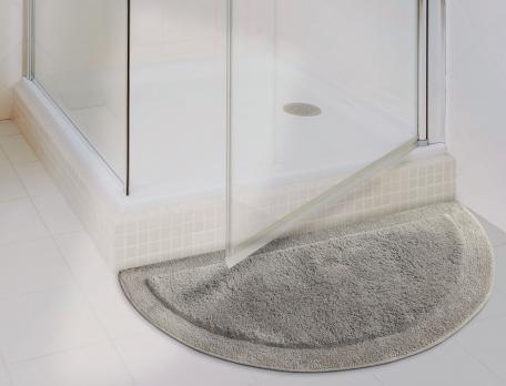 tapis de bain demi lune