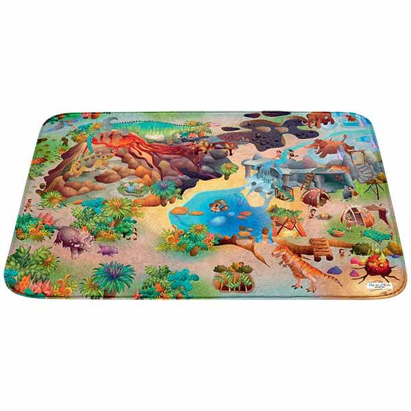 tapis dinosaure