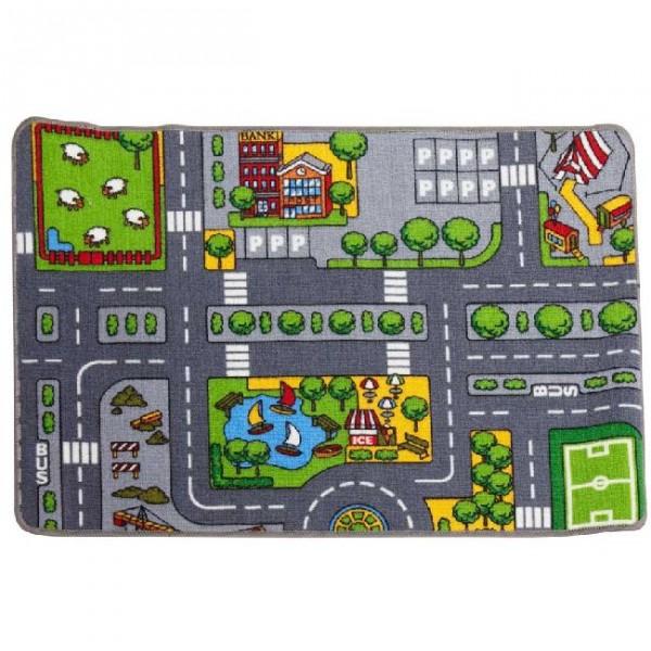 tapis jouet voiture