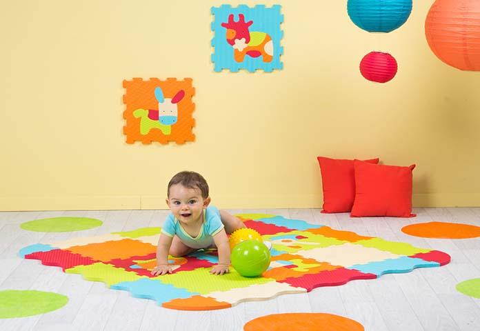 tapis mousse bébé non toxique