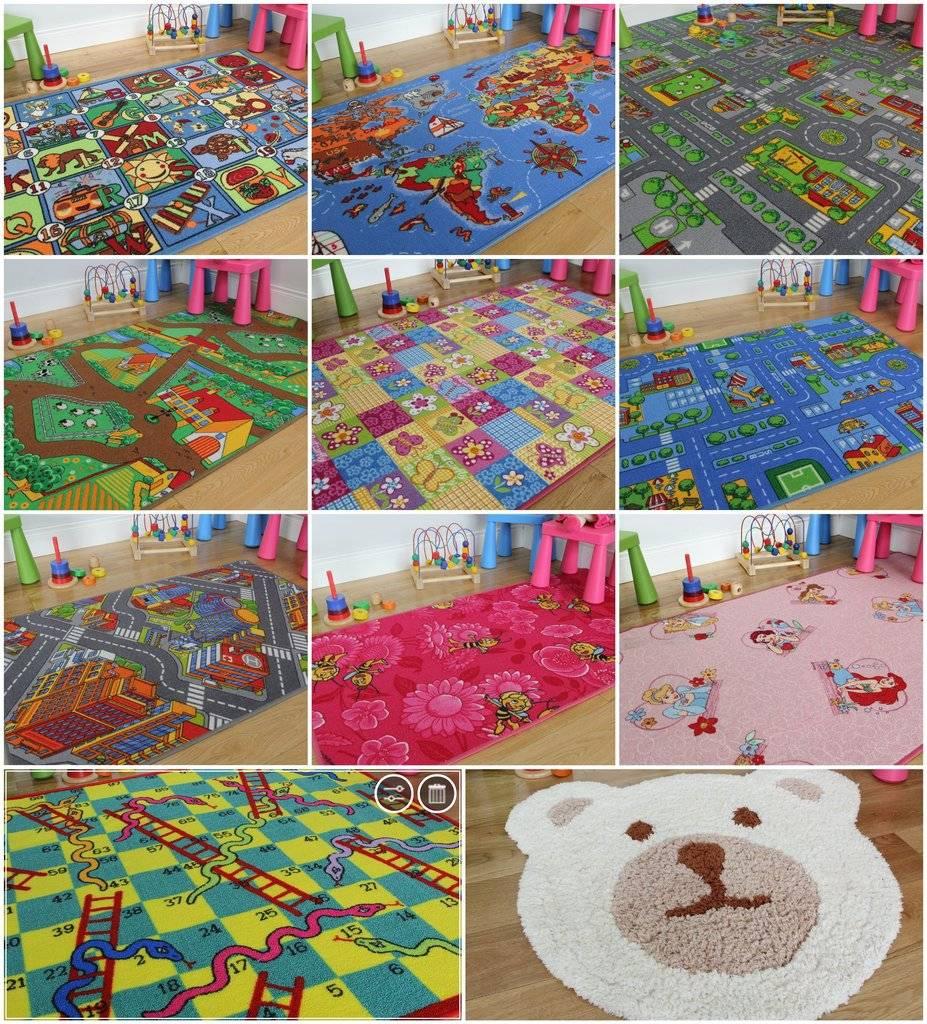 tapis pour salle de jeux