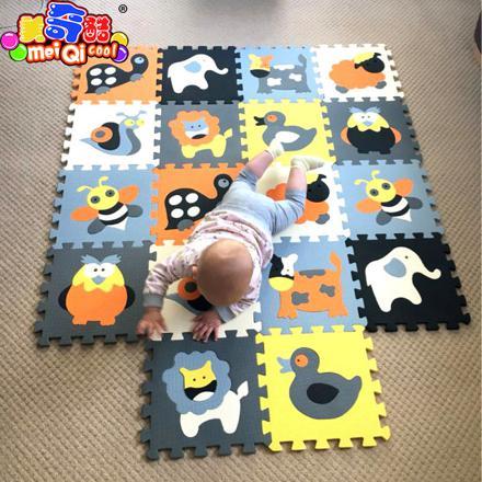 tapis puzzle bébé non toxique