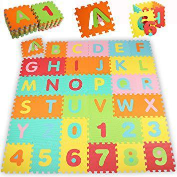 tapis puzzle enfant