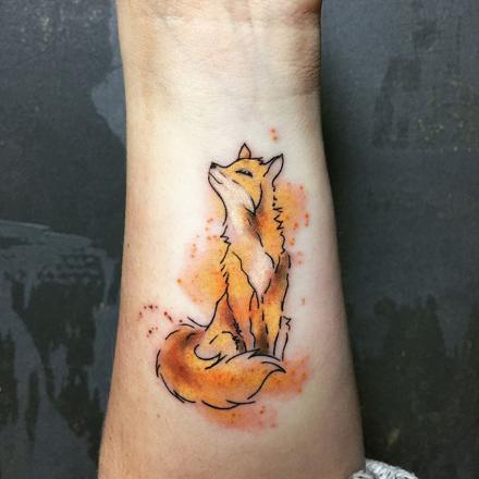 tatoo renard