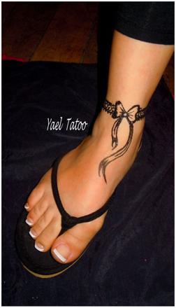 tatouage bracelet noeud