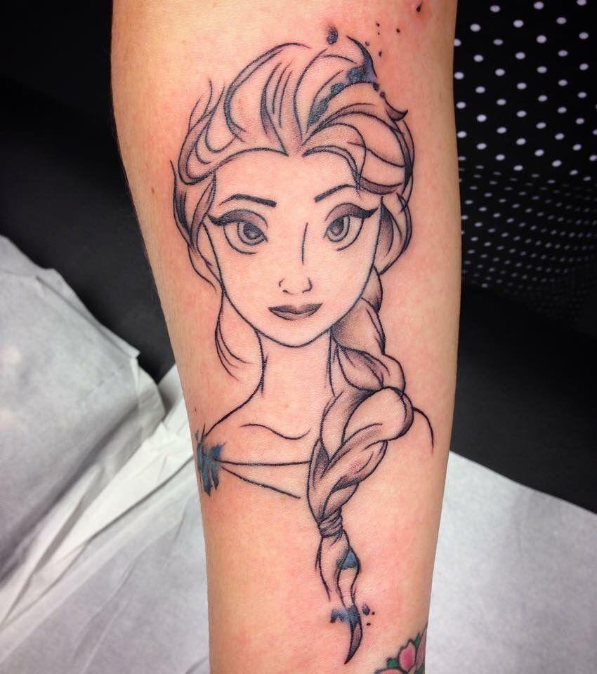 tatouage reine des neiges