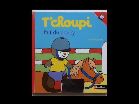 tchoupi fait du poney youtube