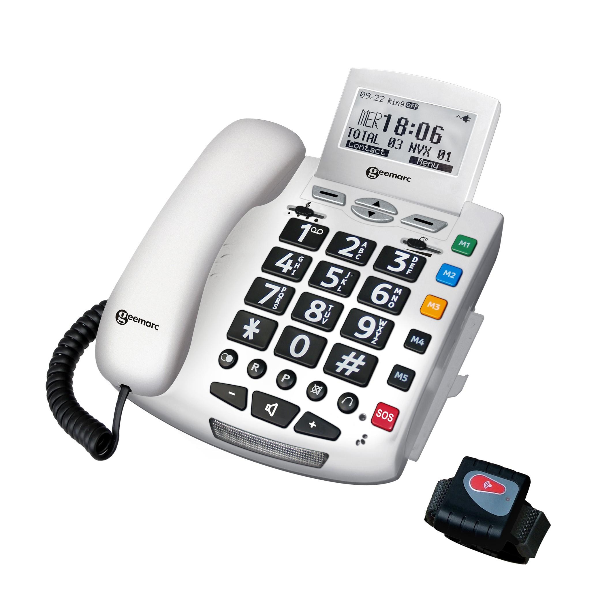 telephone parlant