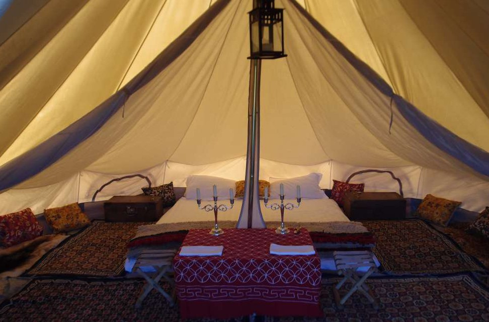 tente intérieure
