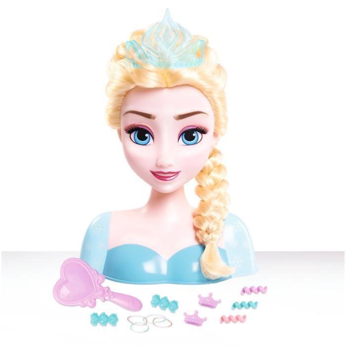 tete de la reine des neiges