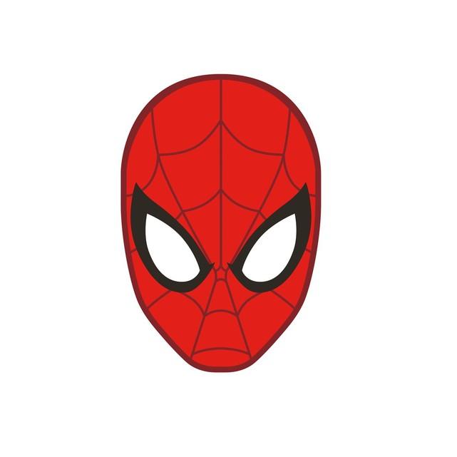 tete de spiderman