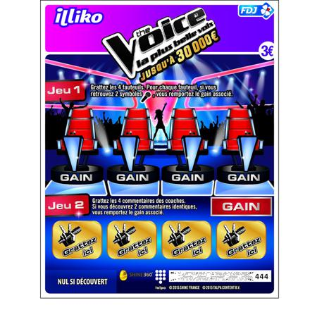 the voice jeu en ligne