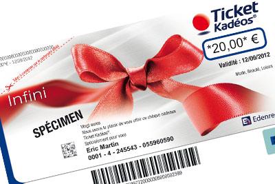 ticket cadeau