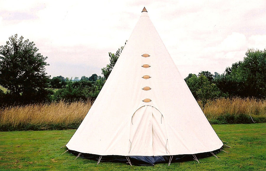tipi tente indienne